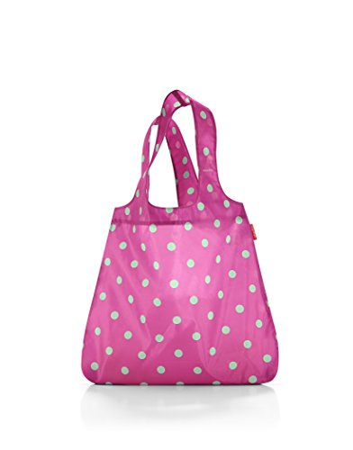 reisenthel mini maxi shopper 43,5 x 60 x 7 cm / 15 l / magenta dots
