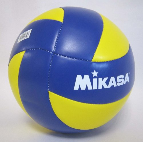 『ミカサ(MIKASA) バレーボール 4号 レクリエーション レジャー用 (中学生・婦人用) イエロー/ブルー 推奨内圧0.25(kgf/㎠) MVA4000』の4枚目の画像