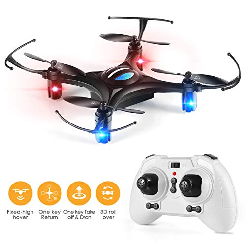 Mini Drone, Remote Control Drone RC Drone Mini Drone Quadcopter with 2.4Ghz Gyroscope 3D Flips...