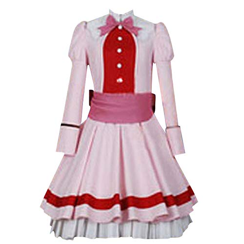 Kuroshitsuji Elizabeth Midford Pink Lolita Dress Halloween Cosplay Costume (Female M)