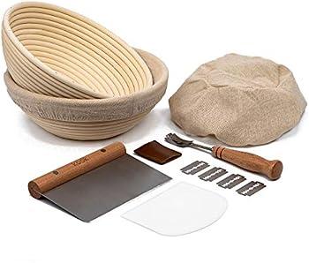 Kook Sourdough Bread Proofing Set