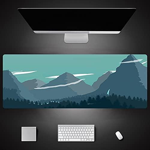 Impresión de Dibujos Animados Xxl Alfombrilla de Ratón Grande Teclado Alfombrilla de Ratón Mesa de Reposamuñecas Alfombrilla de Ratón de Ordenador 700X300X3Mm