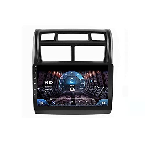 4G + 64G DSP 2 DIN Android 9.0 4G Net Car Radio Multimedia Player para Kia Sportage 2007 2009-2013 Carplay WiFi BT(Size:Ocho núcleos,Color:WiFi:2GB+32GB)