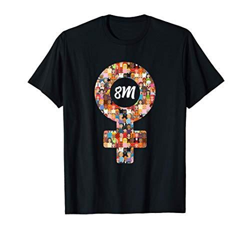 8M 8 Marzo Día de la Mujer 8m Feminista Camiseta