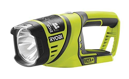 Ryobi GripZone 5133001636 RFL180M - Lámpara de Trabajo (18 V, 4000 Lux, 1 m, Reflector Giratorio 340°)
