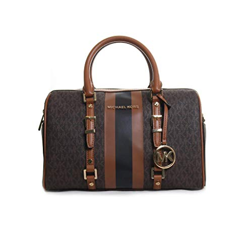 Color: Brown/Acorn 67% coated canvas/17% polyester/14% cotton/2% polyurethane Logo Printed Canvas Style Number: 30F9G07S6B Imported
