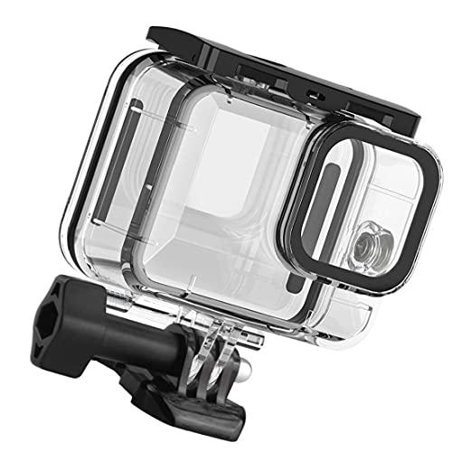 Rrunzfon Funda Impermeable para GoPro héroe 9 de protección Carcasa subacuática Buceo Cubierta Acción Accesorios Cámara Conseguir una protección Completa