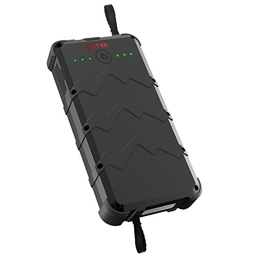 OUTXE Quick Charge wasserdichte Outdoor Powerbank 20000mAh Portable Ladegerät Externes Akku Pack