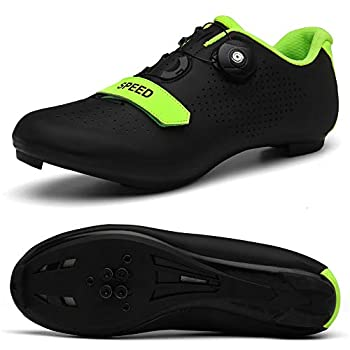 Men s Road Bike Cycling Shoes Peloton Shoe for Men Bicycle Shoes Compatible with SPD and Delta Cleats Black 11