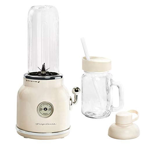 FRIGIDAIRE ESMM100-CREAM 300-Watt Retro Smoothie Maker, Cream