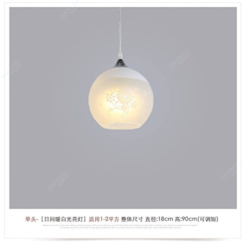 BESPD Restaurant Das moderne minimalistische Restaurant kreative Wohnzimmer Light Pendelleuchte Persnlichkeit Lampe Esszimmer Treppenhaus Kronleuchter einem Kopf B entspricht nicht der Glühlampe