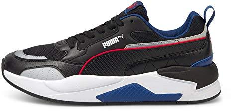 Puma X-Ray 2 Square, Zapatillas Unisex Adulto, Negro Limoges Plata, 46 EU
