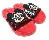 Chanclas Mickey Mouse para Playa o Piscina - Chanclas Disney Mickey Mouse 3D para Niños (numeric_25)