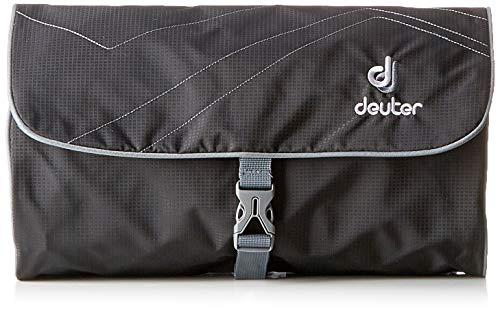 Deuter Kulturtasche Wash Bag II Waschbeutel, Black-Titan, 20 x 31 x 4 cm
