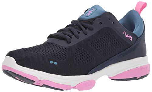 Ryka Women's Devotion XT 2 Training Shoe, Navy, 5