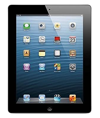 Apple iPad with Retina Display MD511LL/A (32GB, Wi-Fi, Black) 4th Generation (Refurbished) by Apple Computer