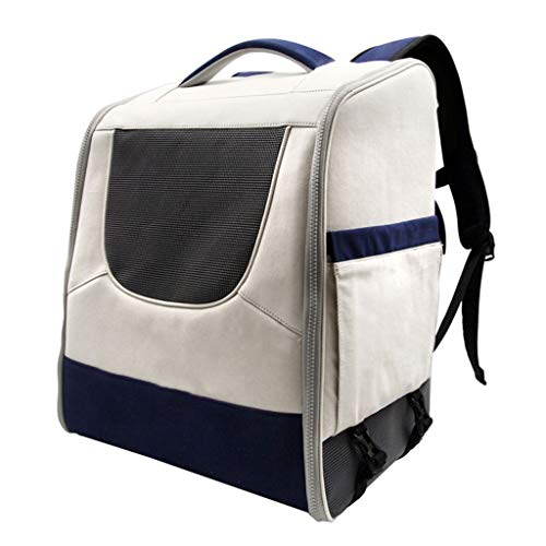 IAOHUO Mode Haustier Tasche, Pet Out Bag Tragbare Haustier Tasche Katze Tasche Welpen Rucksack Haustier Tasche (Color : White)