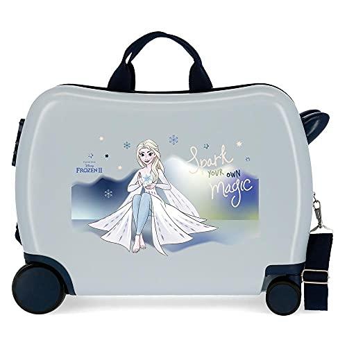 Disney Frozen Adventure Of My Mind - Valigia per bambini, 50 x 38 x 20...