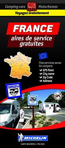 Carte France des aires de camping-car gratuites
