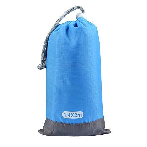 Tipi Zelt für Kinder, faltbar, Spielzelte, Mode, Strand, Picknickdecke, Matte, Picknickdecke, feuchtigkeitsbeständig, zweiseitig, für Kinder, blau, 2.0x2.1m