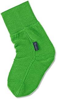 Calcetín de lana, Edad: 18-24 meses, Talla: 22, Verde