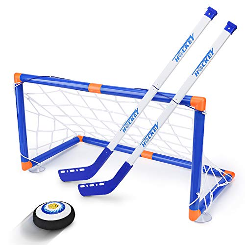 Air Powered LED Hockey Hover Set