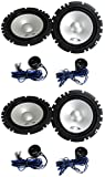 4 Alpine SXE-1750S 6.5' 560W Car 2 Way Component Audio Speakers Stereo SXE1750S