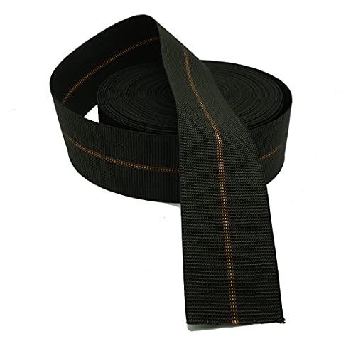 Cinchas de tapicería duras de 80 mm, calidad super extra para asientos, 24 metros