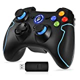 REDSTORM PC Controller, 2,4G Wireless Gamepad, Dual Vibration Turbo für PS3 /Windows-PC/Android TV Box