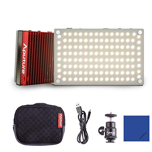 Aputure AL-MX LED Lampe de poche fill Light Pocket Sized Tiny LED Lighting MEHRWEG 2800-6500k TLCI/CRI 95+