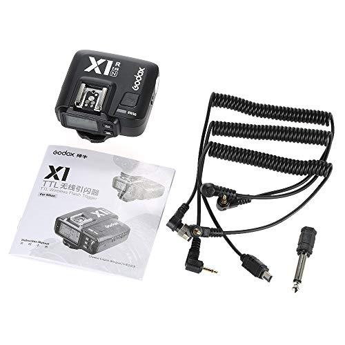 Godox X1R-N 2.4G Wireless Receiver Flash Trigger Single Receiver for Nikon DSLR Camera (X1R-N Receiver)