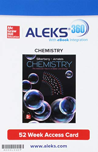 Package: Connect 2Y AC Chemistry: Molecular Nature of Matter and Change with ALEKS 360 2S AC
