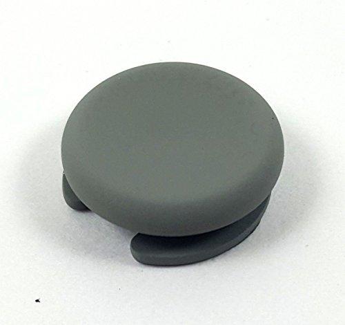 Funda de repuesto para joystick analógico para Nintendo 3DS, 3DS LL, 3DS XL y la nueva 3DS LL XL gris