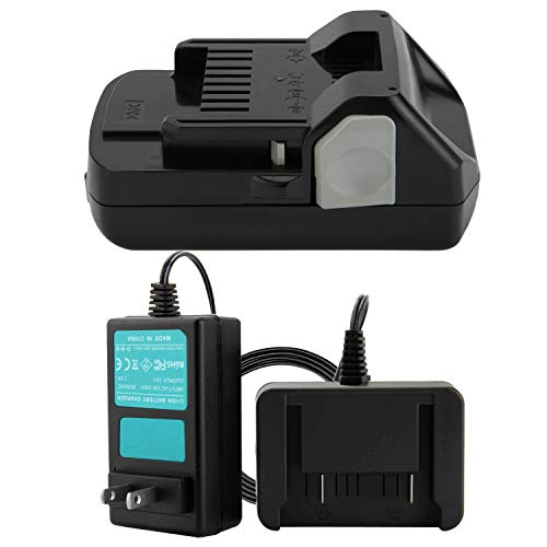 Creabest 18V 2.5Ah Compatible with Hitachi 339782 Battery BSL1830C BSL1815X BSL1815S BSL1830 330139 330557, Include 18V Li-ion Battery Charger