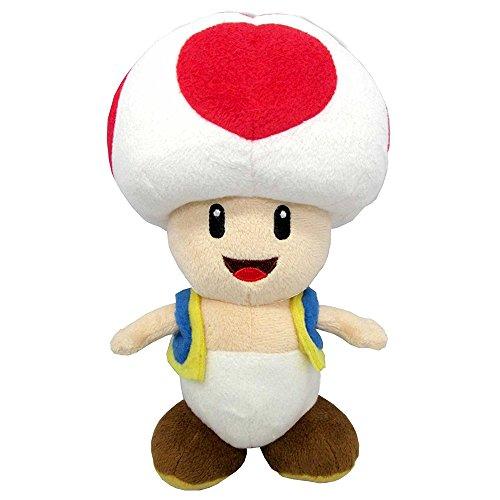 SUPER MARIO gmsm6p01toadnew Bros–Producto Oficial de Nintendo 24cm Peluche Toad