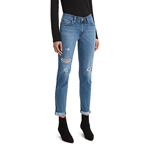 Levi's Women's New Boyfriend Jeans, Hawaii Blue, 31 (US 12)