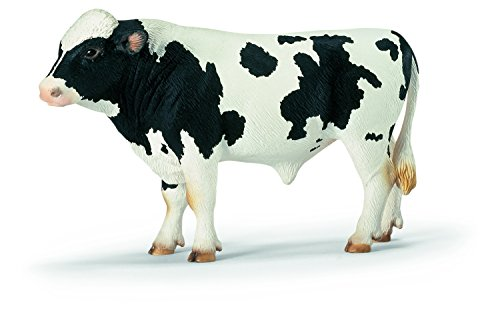 Schleich - Toro frisón de Manchas Negras,...