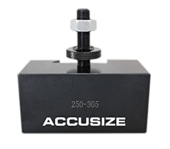 Accusize Industrial Tools Style Bxa Boring Turning and Facing Holder Quick Change Tool Holder for 5//8 Turning Tools Style 2 0250-0202