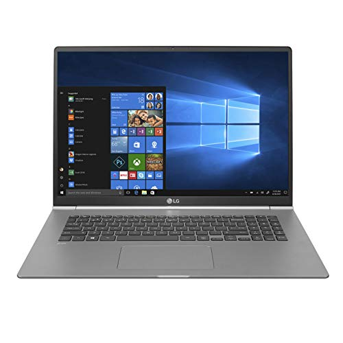 LG gram Thin and Light Laptop - 17'  (2560 x 1600) IPS Display, Intel 8th Gen Core i7, 16GB RAM,...
