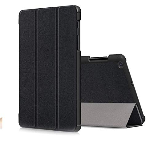 SDTEK Tablet Case Compatible with Samsung Galaxy Tab A (8 inch) 2019 Smart Cover Stand Folding Slim Lightweight (Black)