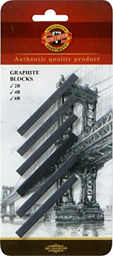 RobArt - 6x blocchi di grafite (2B, 4B, 6B)