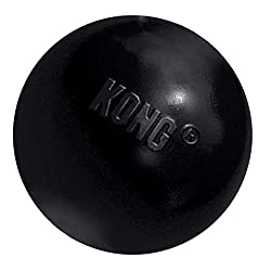 Kong Extreme Black Rubber Ball