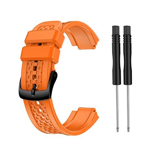 BIlinli 2021 Nueva Correa de Silicona de Repuesto para Garmin- Forerunner 25 Reloj GPS de código pequeño Femenino con Herramientas Envío Directo