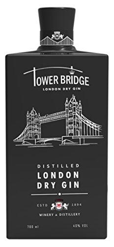 Ginebra Premium Tower Bridge London Dry GIN black 700ml