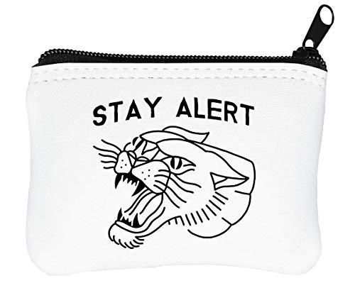 Stay Alert rits portemonnee portemonnee portemonnee