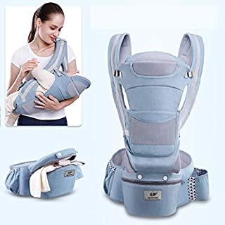 0-36M Ergonomic Baby Kangaroo Carrier Infant Baby Hipseat Carrier Carrying for Children Baby Wrap Sling for Newborns (B3)