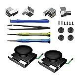 Non-brand 20pcs / Set Kit de Reparación Analógica 3D Joystick Caps Springs para