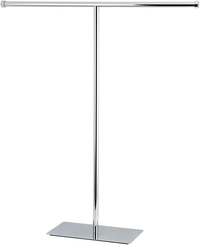 Kingston Brass CC8201 Claremont T-Shape Towel Rack, 32-3 4-Inch, Polished Chrome