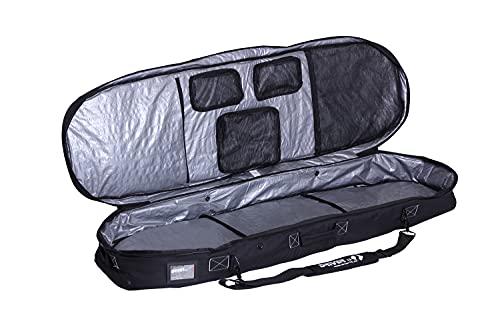 Driver13 ® Kiteboard Bag Weekend No.01, Kite Boardbag para tu Kiteboard con Sistema de Mochila 145 cm Negro