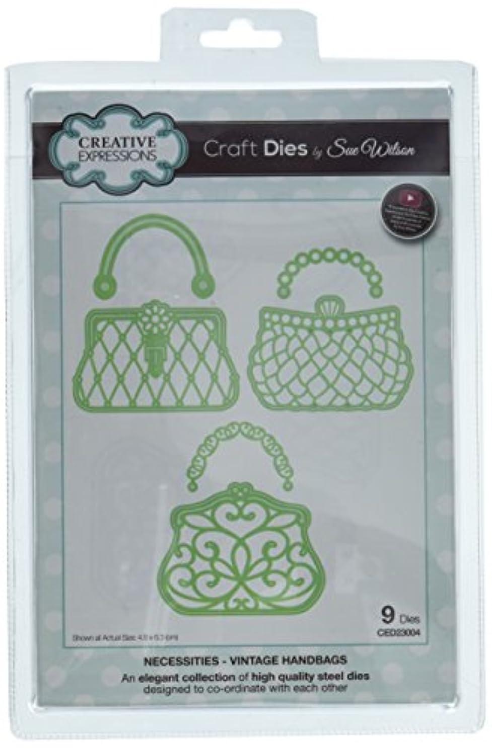 Sue Wilson CED23004 Necessities Collection Vintage Handbags Die